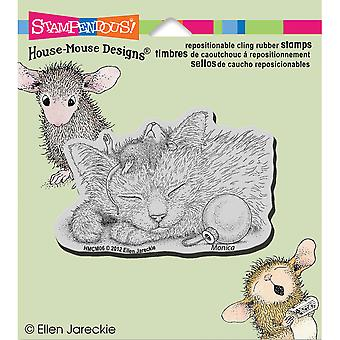 Stampendous House Mouse Cling Stamp 3.5