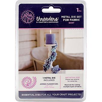 Crafter's Companion Threaders Metal Fabric Die-Daisy