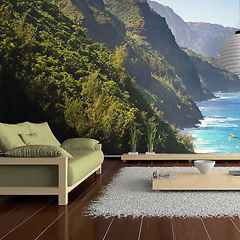XXL-wallpaper - Na Pali Coast, Kauai, Hawaï