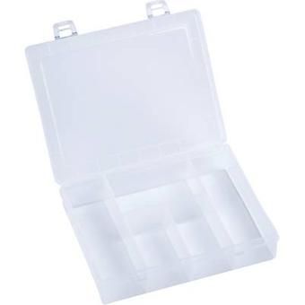 Caja surtido Hünersdorff (L x W x H) 180 x 140 x 40 mm no. de compartimientos: 5 compartimentos fijos