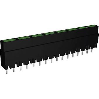 LED linear array 8x Green (L x W x H) 40.8 x 3.7 x 9 mm Signal Construct ZALS 082