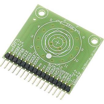Conrad Components SU709785 PCB adapter (L x W) 42.7 mm x 38.3 mm Content 1 pc(s)