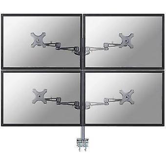 NewStar FPMA-D935D4 4 x skjermen pulten mount 25,4 cm (10) - 68,6 cm (27) Swivelling/vippbart, transporthjul