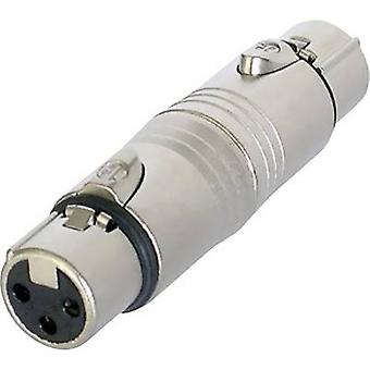 XLR adapter XLR socket - XLR socket NeutrikNA3FF1 pc(s)