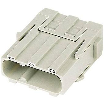 PIN inzet Han® C-Modul 09 14 003 3002 Harting 3 + PE schroeven 1 PC('s)