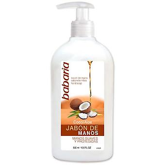 Babaria Coconut Hand Soap 500 ml (Hygiene and health , Shower and bath gel , Hand soap)
