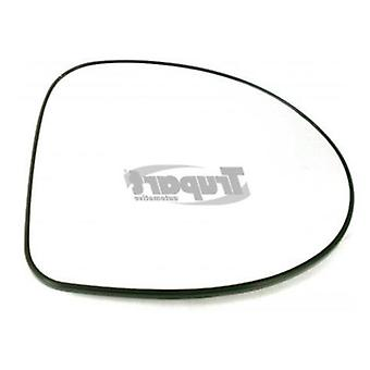 Right Mirror Glass (heated) & Holder for RENAULT TWINGO 2007-2010