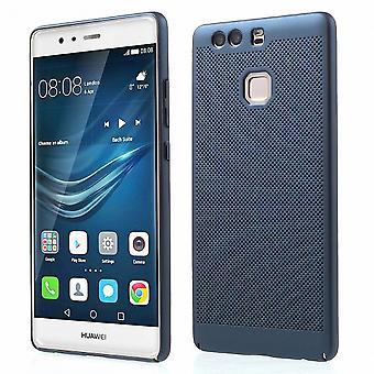 Mobile Shell voor Huawei P9 mouw zaak tas cover case blauw