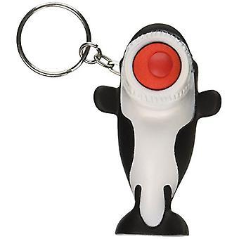Hog Wild Spielzeug Popper Orca Schlüsselanhänger