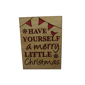 Have Yourself A Merry Christmas Sign