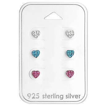 Heart - 925 Sterling Silver Sets - W29112x
