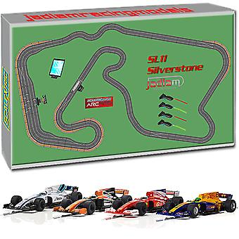SCALEXTRIC digitale impostato SL11 2018 - ARC Pro Silverstone 4 auto JadlamRacing Layout