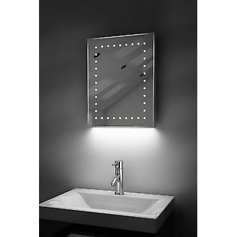 Auto color Rgb afeitadora cambio espejo con antivaho y Sensor K163Rgb