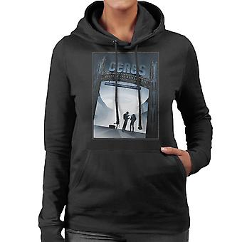 NASA Ceres Interplanetary Travel Poster Women's Hooded Sweatshirt