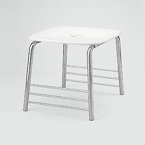 GEDY Prima Classe baño taburete blanco cromo 6072 23