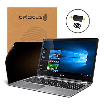 Celicious Privacy 2-Way Anti-Spy Filter Screen Protector Film Compatible with Acer Aspire R 15