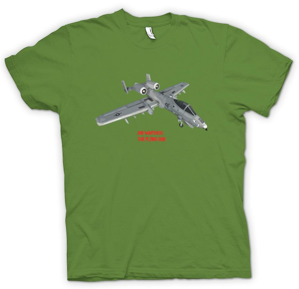Hommes T-shirt - A10 Warthog - The Flying Gun