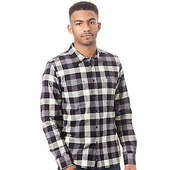 Oakley Blackout Icon Flanel Long Sleeved Shirt