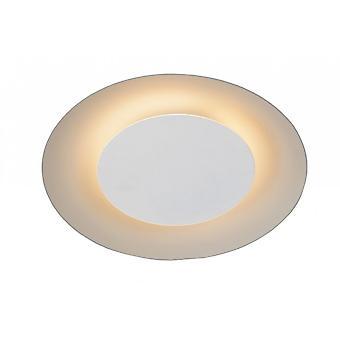 Lucide Foskal moderno redondo Metal teto nivelado branco luz