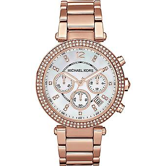 Michael Kors ladies watch brown