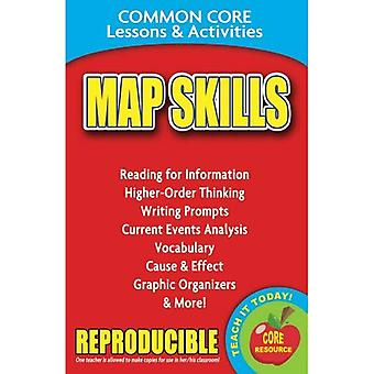 Map Skills: Common Core Lessons & Activities