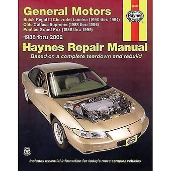 General Motors Buick Regal, Chevrolet Lumina, Olds Cutlass suprême, Pontiac Grand Prix, 1988-2007