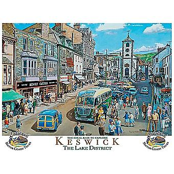 Keswick, The Lake District, Small Metal Sign 200mm x 150mm (og)