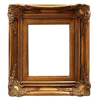 20x25 cm or 8 x 10 ins, photo frame in gold