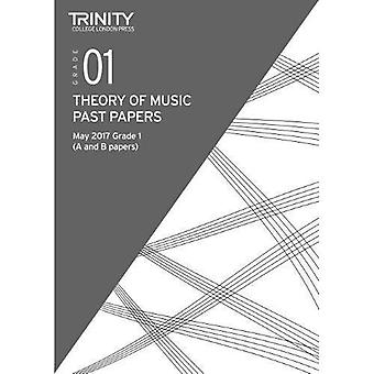 Trinity College London: Past Papers: Theory (May 2017) Grade 1