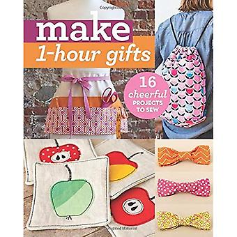 Make 1-Hour Gifts: 16 Cheerful Projects to Sew (Make Series)