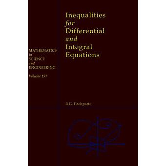 INEQUALITIES DIFF INTEGRAL EQUAT by Pachpatte
