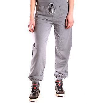 Liu Jo Grey Cotton Joggers