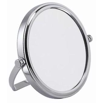 7x Small Size Travel Compact Chrome Mirror