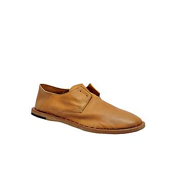 Officine Creative Brown Leather Lace-up Shoes