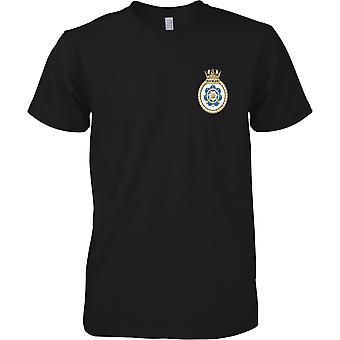 HMS Ranger - huidige Koninklijke Marine schip T-Shirt kleur