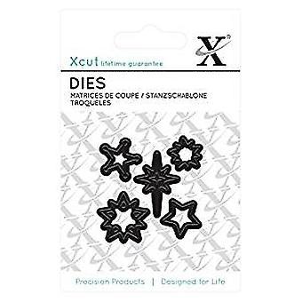 Xcut Mini Die - (5pcs) Mini Stars (XCU 503617)