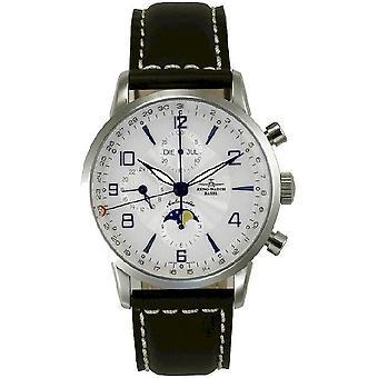 Zeno-watch mens watch Godat I Fullcalendar chronograph 7751VKL-g3