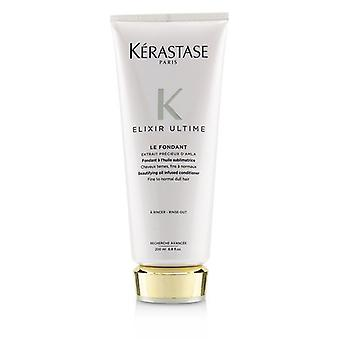 Kerastase Elixir Ultime Le Fondant Beautifying Oil Infused Conditioner (fine To Normal Dull Hair) - 200ml/6.8oz