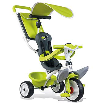 Smoby Baby Ballad trois-roues vert