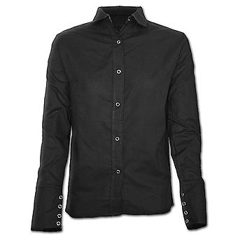 Spiral Direct Gothic URBAN FASHION - Gothic Workshirt Black|Fashion