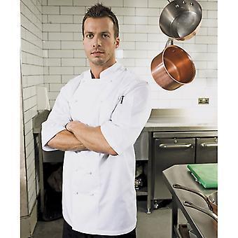 Premier Mens Ambassador Short Sleeve Chefs Jacket White XS,S,M,L,XL,XXL