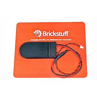 Brickstuff Coin Cell Battery Pack with On/Off Switch for the Brickstuff LEGO Lighting System - SEED04