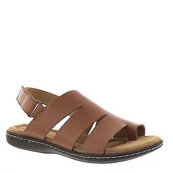 ARRAY Womens Jamaica Leather Open Toe Casual Ankle Strap Sandals