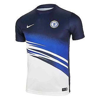 2019-2020 Chelsea Nike Pre-Match Training Shirt (White) - Kids