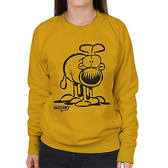 Grimmy On All Fours sudadera de mujer