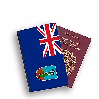 MONTSERRAT Flag Passport Holder Style Case Cover Protective Wallet Flags design