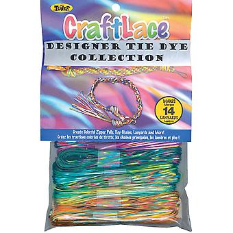 Craft Lace 25 Feet 12 Pkg Tie Dye 86525