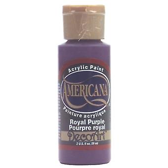 Americana acrylverf 2 Ounces Royal Purple ondoorzichtige Da 150
