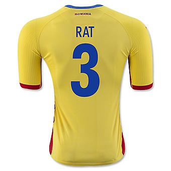 2016-17 Romania Home Shirt (Rat 3)