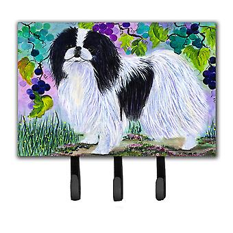 Japanese Chin Leash Holder or Key Hook